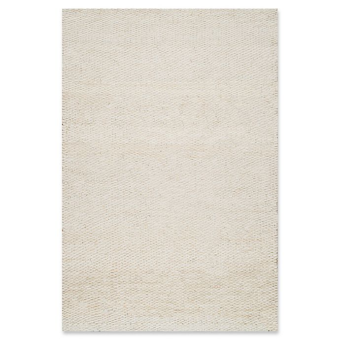 Alternate image 1 for nuLOOM Hand Woven Hailey Jute 8-Foot x 10-Foot Area Rug in White