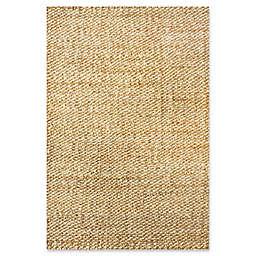 nuLOOM Hand Woven Hailey Jute 9-Foot 6-Inch x 13-Foot 6-Inch Area Rug in Natural