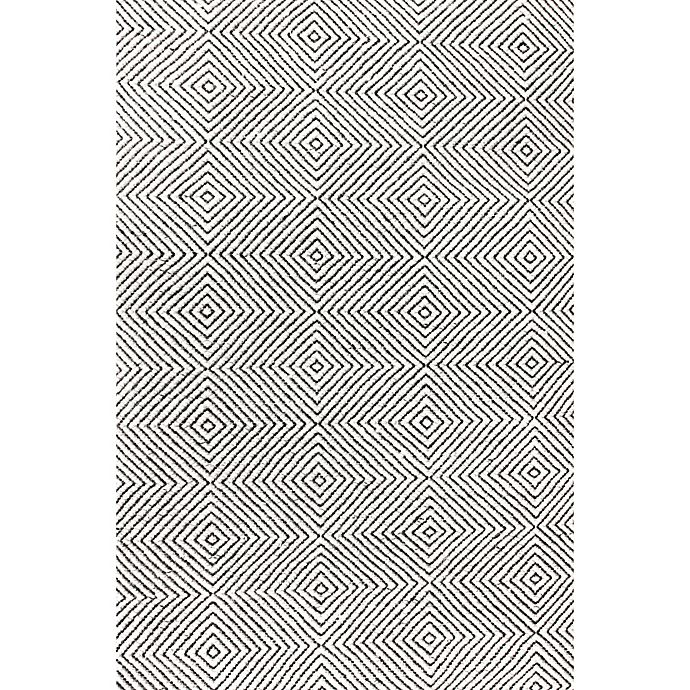 Alternate image 1 for nuLOOM Ago 4-Foot x 6-Foot Area Rug in Ivory