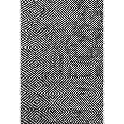 nuLOOM Ago 4-Foot x 6-Foot Area Rug in Black