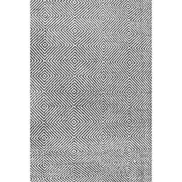 nuLOOM Ago 10-Foot x 14-Foot Area Rug in Black