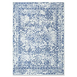 nuLOOM Vintage Odell Rug in Light Blue
