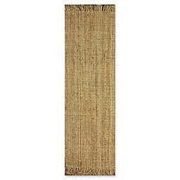 nuLOOM Chunky Loop 2'6 x 12' Runner in Natural