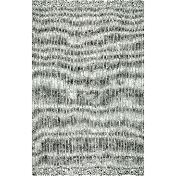 Alternate image 1 for nuLOOM Chunky Loop 8'6 x 11'6 Area Rug in Grey