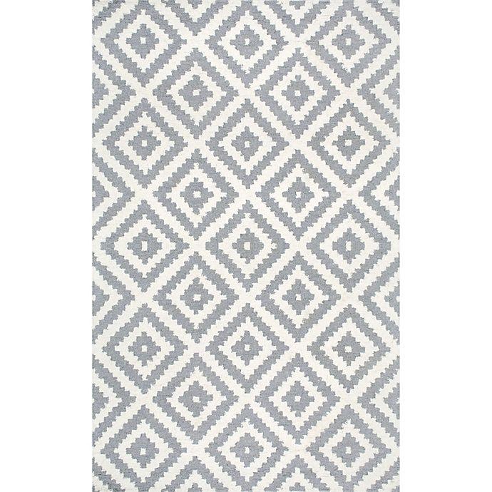 Alternate image 1 for nuLOOM Kellee 4-Foot x 6-Foot Area  Rug in Grey