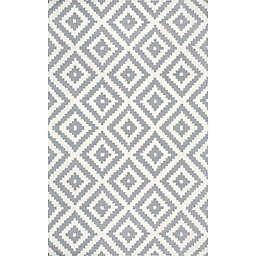nuLOOM Kellee 4-Foot x 6-Foot Area  Rug in Grey