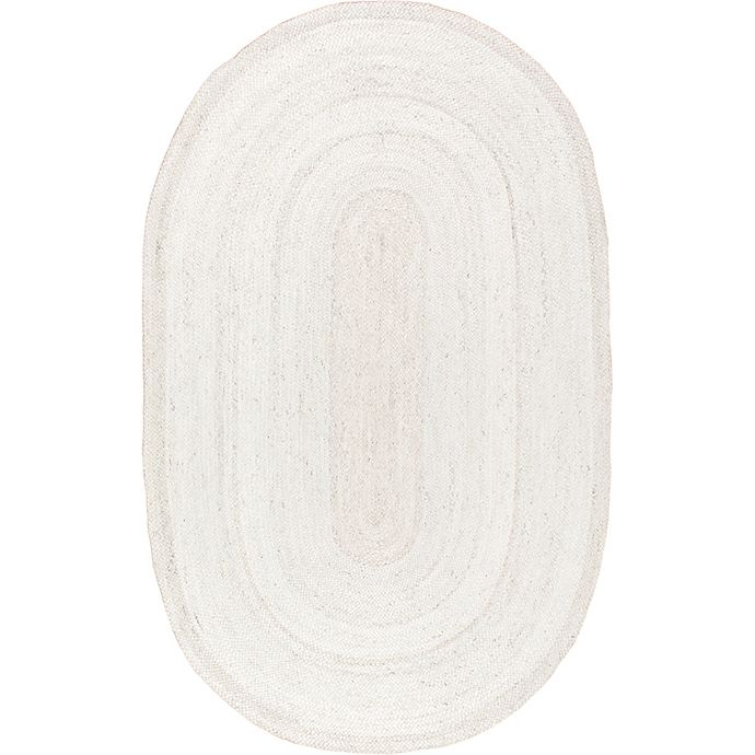 Alternate image 1 for nuLOOM Rigo Jute 2-Foot 3-Inch x 4-Foot Area Rug in White