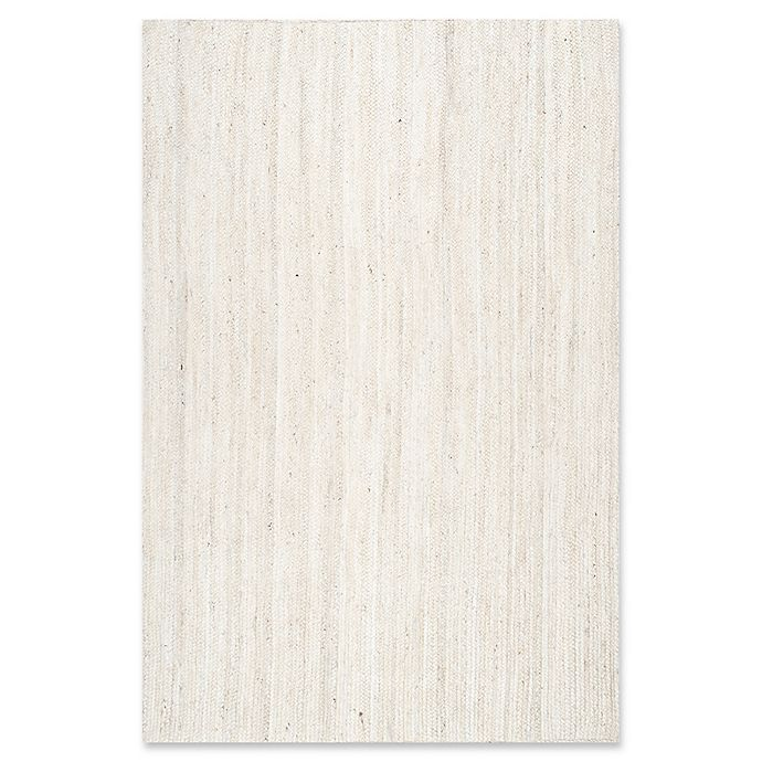 Alternate image 1 for nuLOOM Rigo Jute 5-Foot x 8-Foot Area  Rug in White