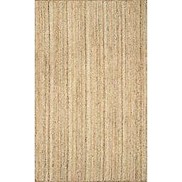 nuLOOM Rigo Jute 6-Foot x 9-Foot Area Rug in Natural