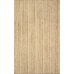 nuLOOM Rigo Jute 8-Foot x 10-Foot Area Rug in Natural