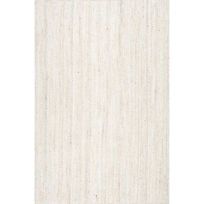 Alternate image 1 for nuLOOM Rigo Jute 8-Foot x 10-Foot Area Rug in White