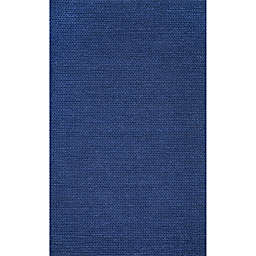 nuLOOM Chunky Woolen Cable 8-Foot x 10-Foot Area Rug in Navy