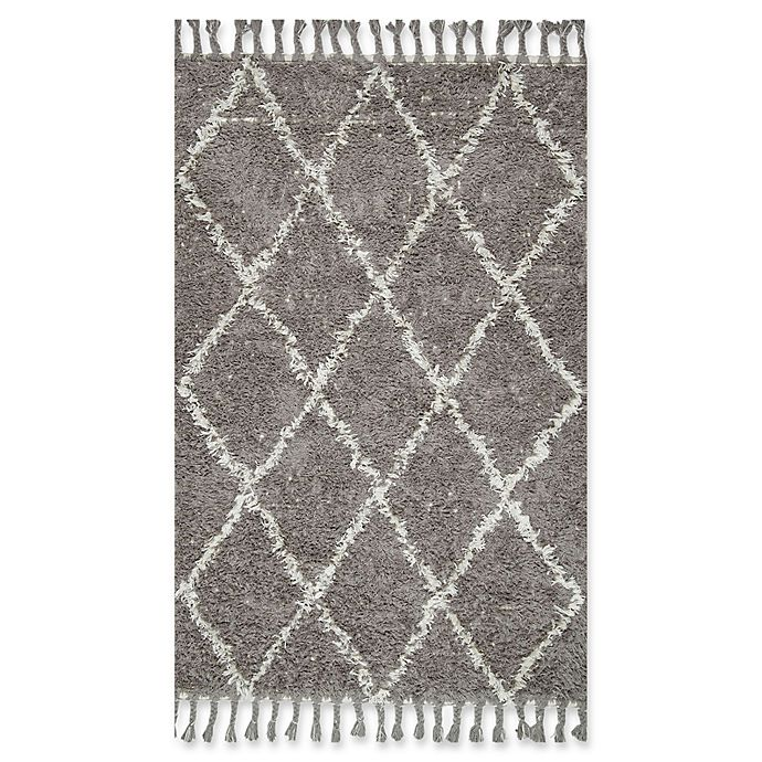 Alternate image 1 for nuLOOM Fez Shag 12-Foot x 15-Foot Area Rug in Grey