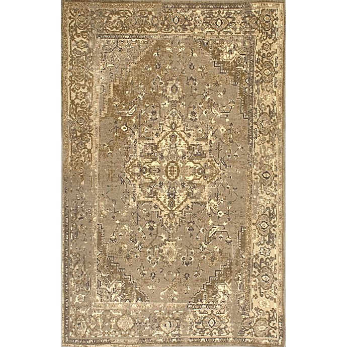 Alternate image 1 for nuLOOM Vintage Reiko 4-Foot 4-Inch x 6-Foot Area Rug in Natural