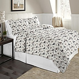 Pointehaven 170 GSM Flannel Duvet Cover Set