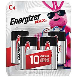 Energizer® 4-Pack C 1.5-Volt Alkaline Batteries
