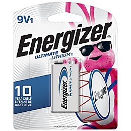 Energizer® Ultimate 9-Volt Lithium Battery