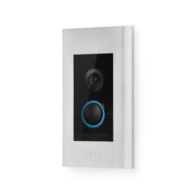 Ring Video Doorbell Elite in Satin Nickel