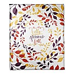 Designs Direct  Hello Glorious Fall  Throw Blanket in Yellow