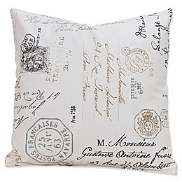 SIScovers® Postscript 20-Inch Square Throw Pillow