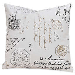 SIScovers® Postscript Throw Pillow Collection