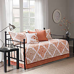 Madison Park Essentials Claire 6-Piece Daybed Set in Spice
