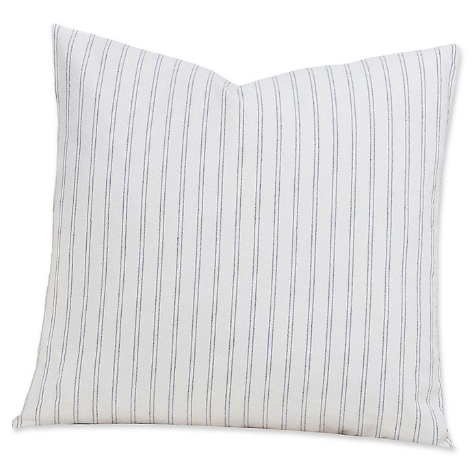 Alternate image 1 for SIscovers® Ticking Stripe 20-Inch Square Throw Pillow