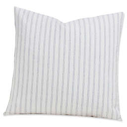 SIscovers® Ticking Stripe 20-Inch Square Throw Pillow