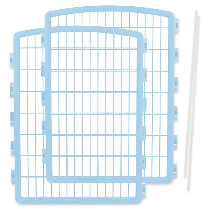 Alternate image 1 for IRIS® 2-Piece Add-On Kit for 8-Panel Indoor/Outdoor Pet Pen
