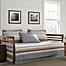 Part of the Eddie Bauer® Salmon Ladder Stripe Daybed Quilt Set