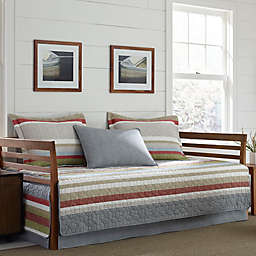 Eddie Bauer® Salmon Ladder Stripe Daybed Quilt Set in Blue