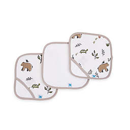 Little Unicorn™ 3-Pack Cotton Washcloths in Forest Friends