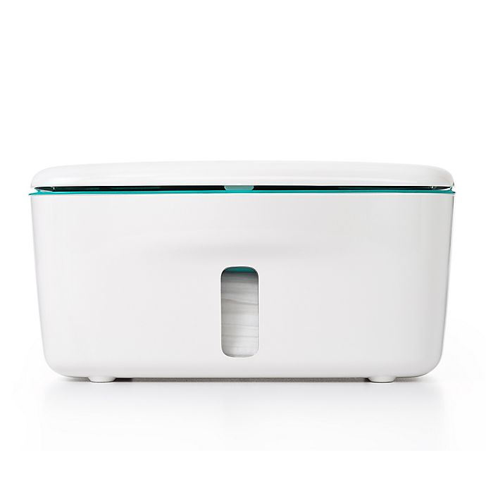 Alternate image 1 for OXO Tot® Perfect Pull™ Wipes Dispenser in Teal