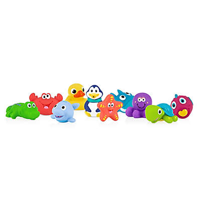 Nuby™ 10-Pack Little Squirts Bath Squirters
