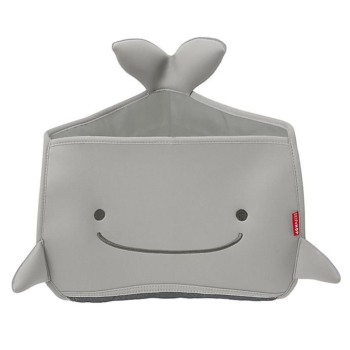 Alternate image 1 for SKIP*HOP® Moby® Corner Bath Organizer in Grey