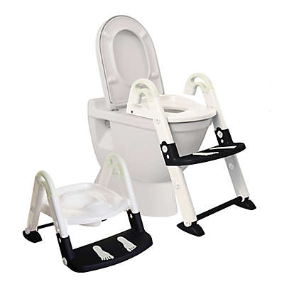 Dreambaby® 3-in-1 Toilet Trainer in Black/White