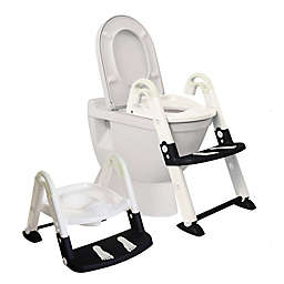 Dreambaby® 3-in-1 Toilet Trainer in Black/White