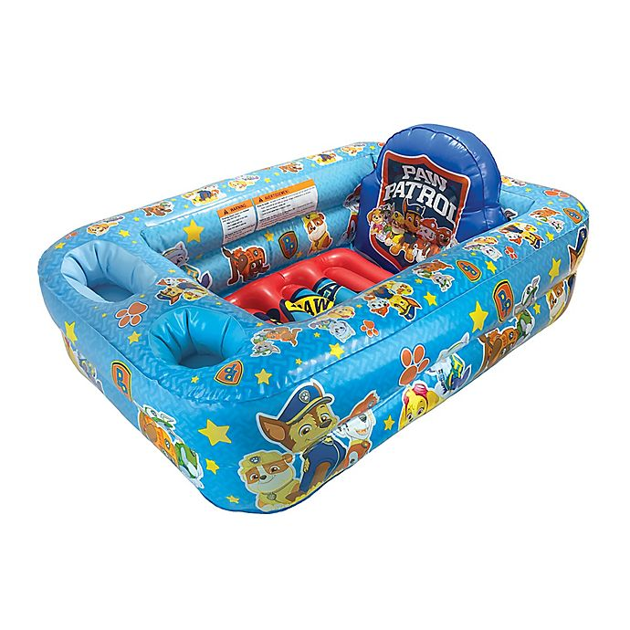 Alternate image 1 for Nickelodeon Paw Patrol Inflatable Tub