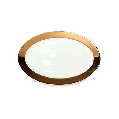 CRU by Darbie Angell Monaco Oval Platter in Gold