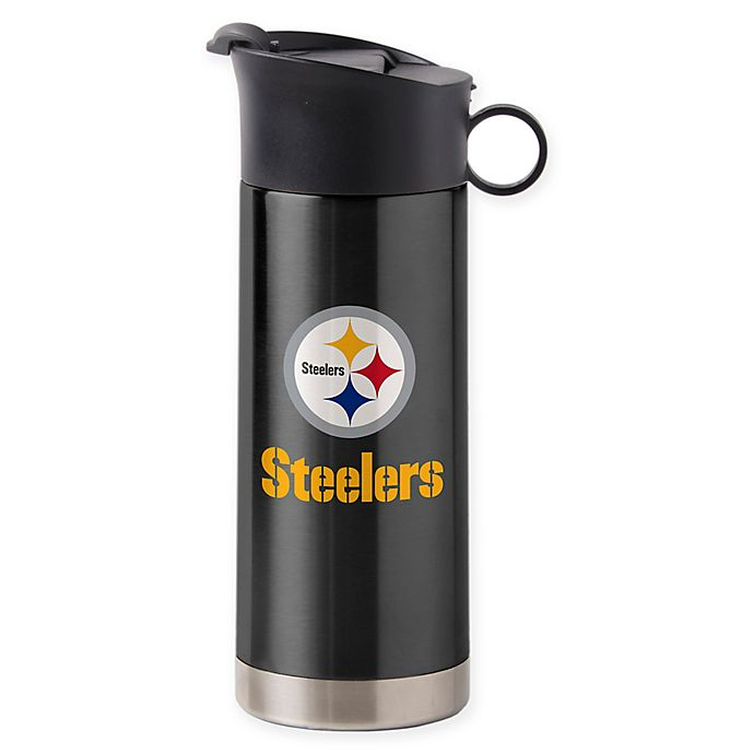 Alternate image 1 for NFL Pittsburgh Steelers 14 oz. Ultra Insulated Tumbler
