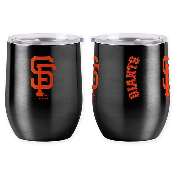 Alternate image 1 for MLB San Francisco Giants 16 oz. Stainless Steel Curved Ultra Tumbler Wine Glass