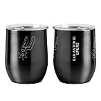 NBA San Antonio Spurs 16 oz. Stainless Steel Curved Ultra Tumbler Wine Glass