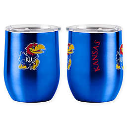 University of Kansas 16 oz. Curved Ultra Tumbler