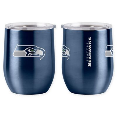 Nfl Seattle Seahawks 16 Oz Stainless Steel Curved Ultra