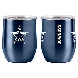NFL Dallas Cowboys 16 oz. Stainless Steel Curved Ultra Tumbler Wine Glass