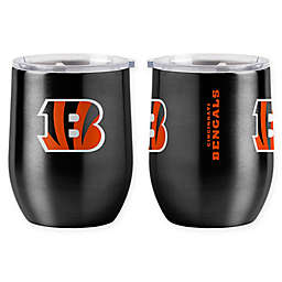 NFL Cincinnati Bengals 16 oz. Stainless Steel Curved Ultra Tumbler Wine Glass