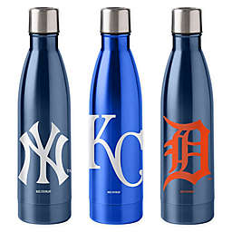 MLB 18 oz. Stainless Steel Water Bottle Collection
