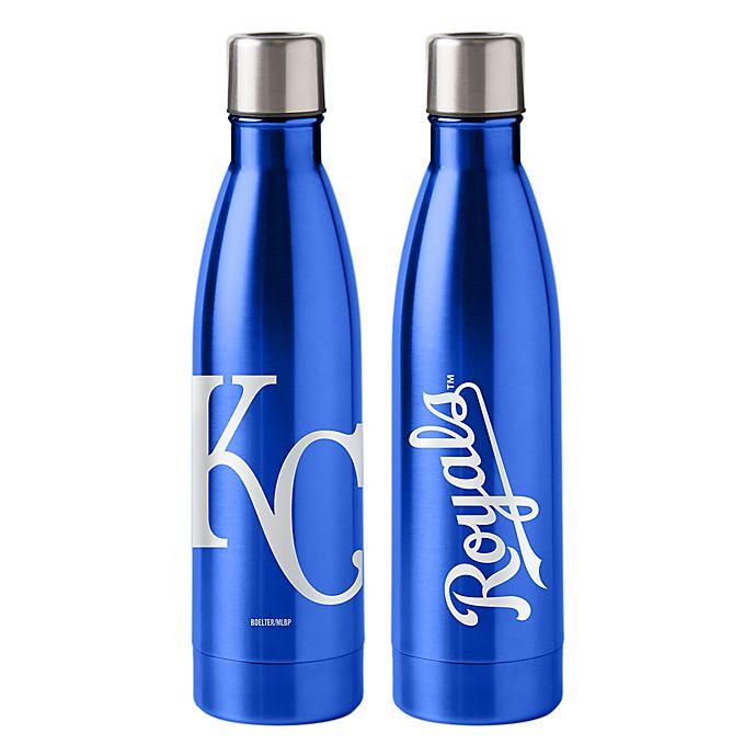 Alternate image 1 for MLB Kansas City Royals 18 oz. Stainless Steel Water Bottle