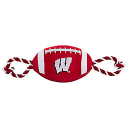 University of Wisconsin Nylon Football Pet Rope Toy