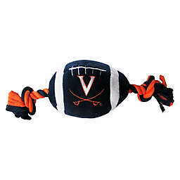 University of Virginia Nylon Football Pet Rope Toy